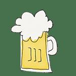 dibujo cerveza