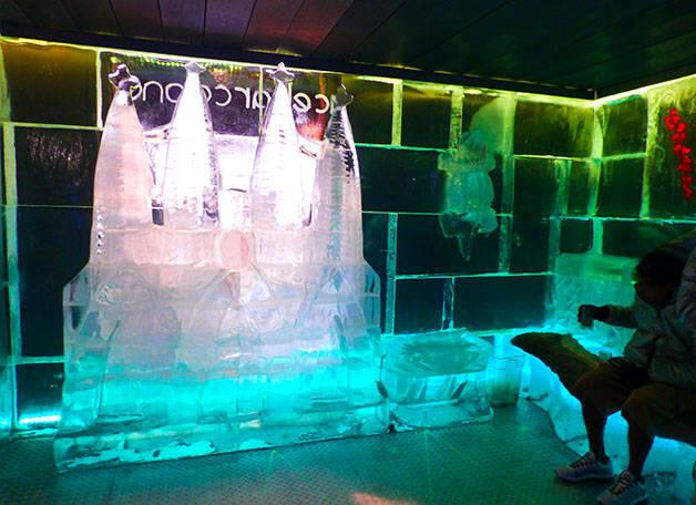 Icebarcelona interior hielo