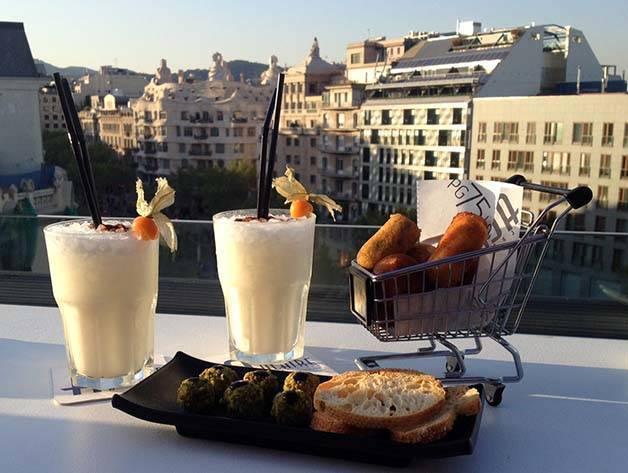 terrazas de hotel Condes de Barcelona