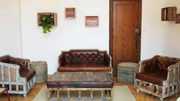 the Hipstel salón