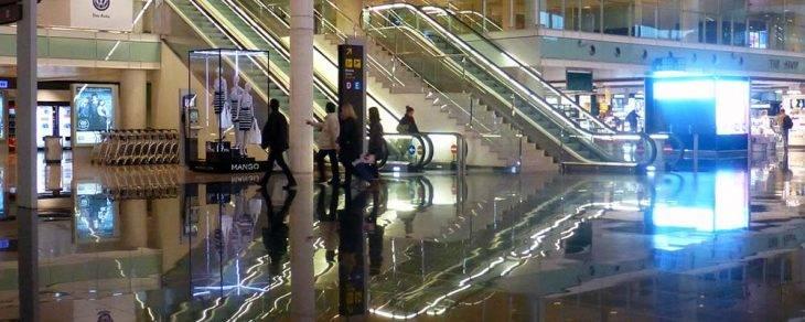 trayecto Barcelona aeropuerto