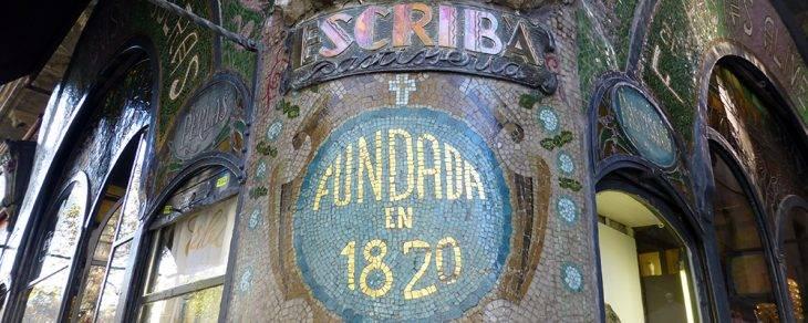 tiendas emblemáticas Barcelona Escribà