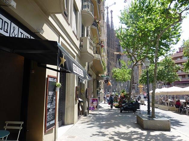 Restaurantes cerca de la Sagrada Familia