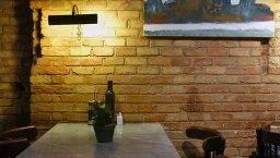 pared de ladrillo La Palmera
