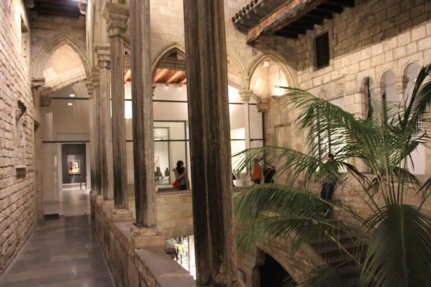 interior museo Picasso de Barcelona
