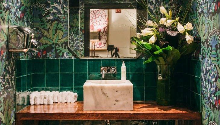 hotel pulitzer baño