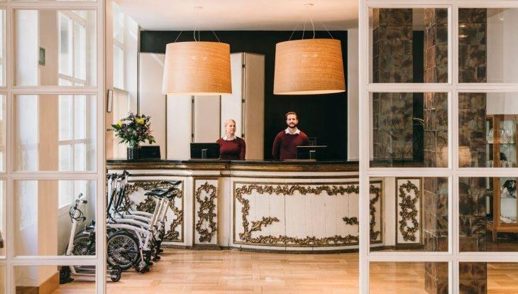 hotel pulitzer entrada