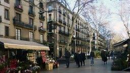 fin de semana Barcelona ramblas