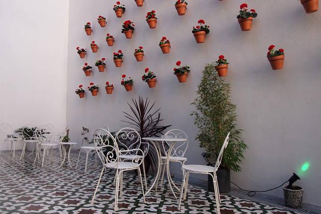 Christopher's Inn terraza