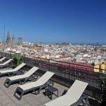 Citadines Ramblas terraza