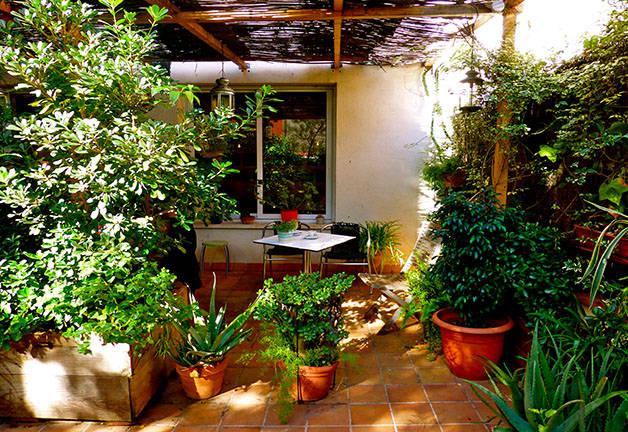 jardín terraza liadísimo