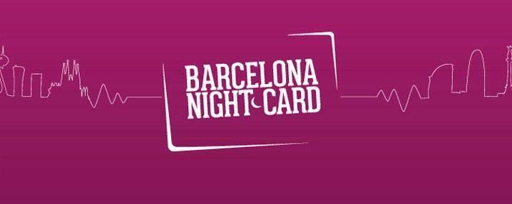 Barcelona Night Card