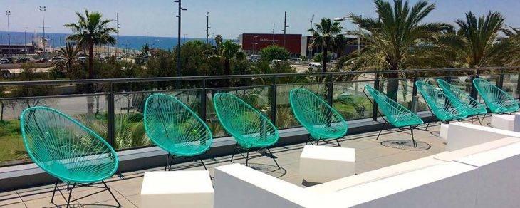 Barceló Atenea Mar terraza