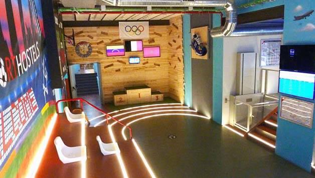 bcn sport hostel sala de deporte
