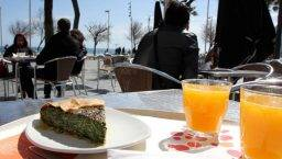 terrazas soleadas Barceloneta