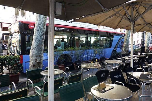 autobús Barcelona