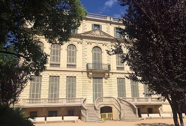 fachada trasera Palau Robert