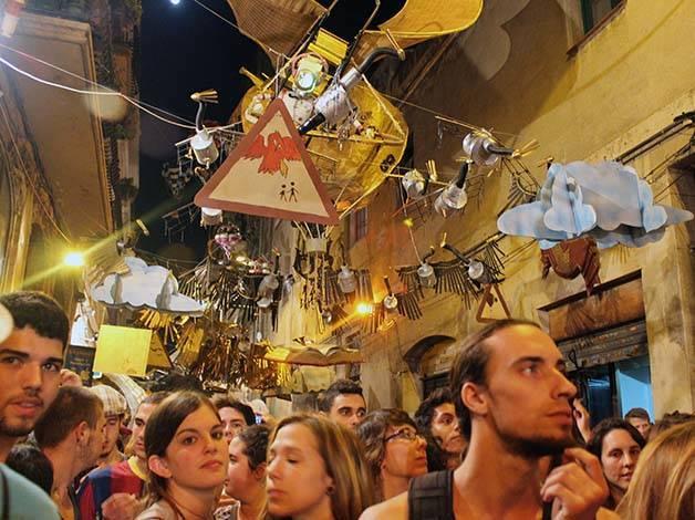 barcelonés fiesta gràcia