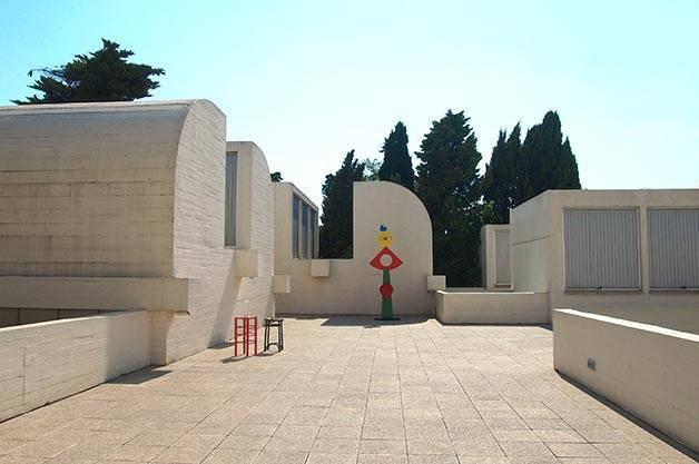 fundación Miró terraza