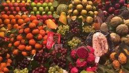fruta Boquería Ramblas