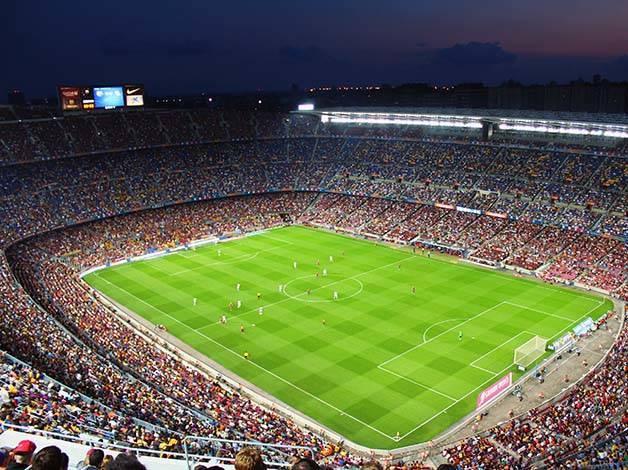 partido del Barça estadio