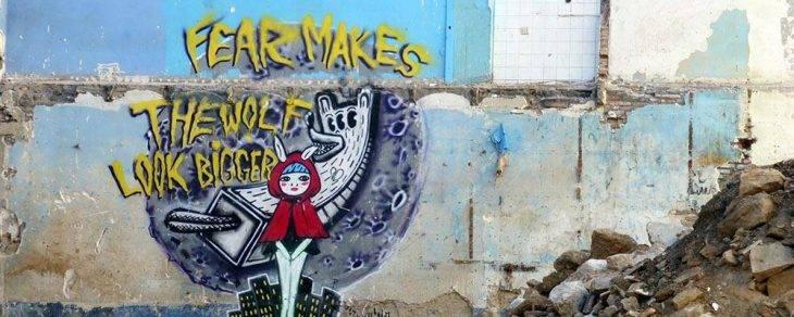 street art caperucita