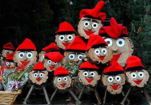 tio de nadal mercados de Navidad
