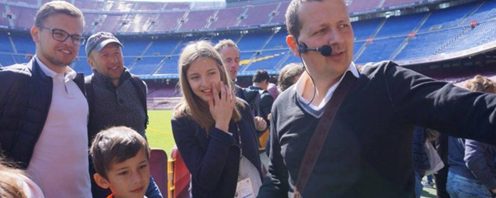 Visita el Camp Nou de otra manera: ¡déjate guiar por un experto!