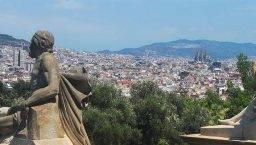 vistas MNAC Barcelona