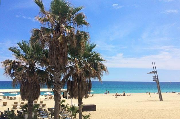 las playas de Barcelona