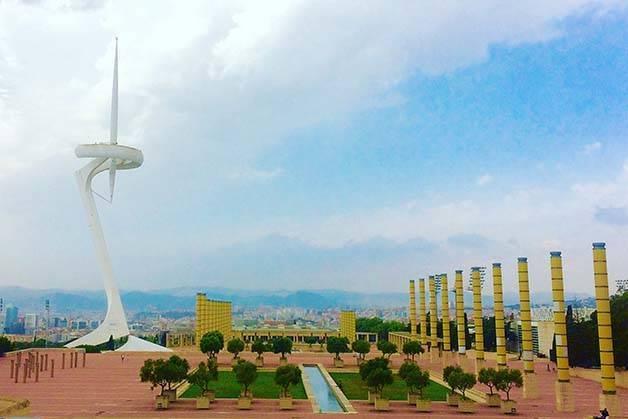 montjuïc torre de las comunicaciones
