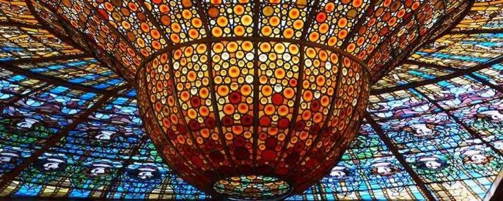 cúpula Palau de la Música