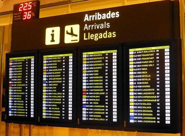 viaje de negocios aeropuerto Barcelona