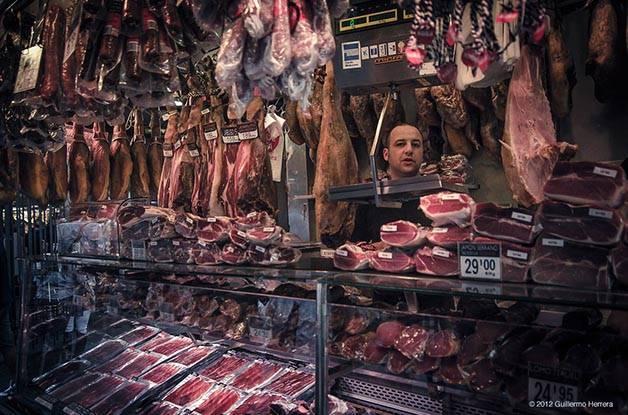 Barcelona gastronómica Boquería