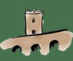 dibujo castillo montjuïc