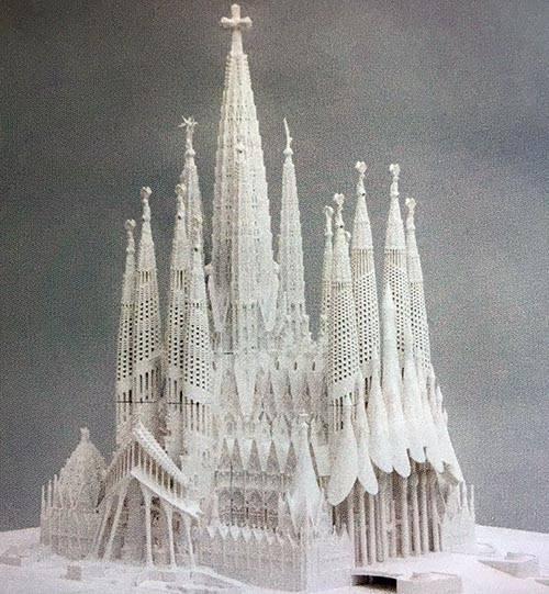 Sagrada Familia historia maqueta
