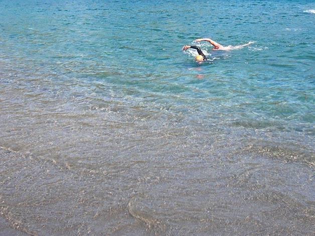 deporte nadadores