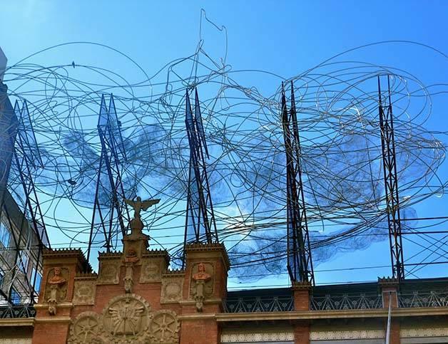 Antoni Tàpies fachada obra