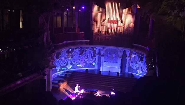 concierto en el palau de la musica