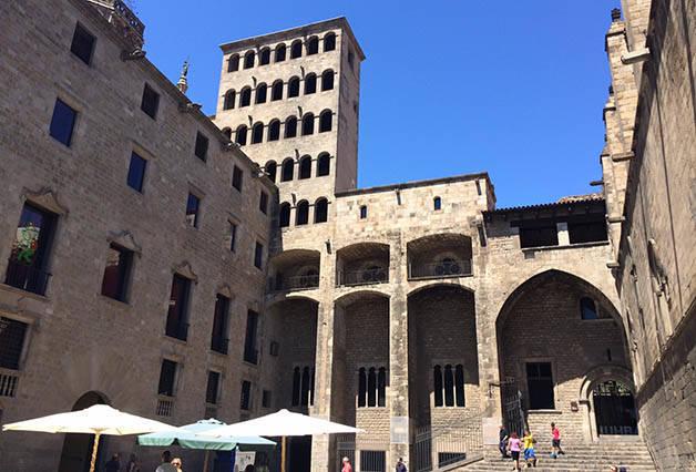 Plaça del Rei Museo de Historia