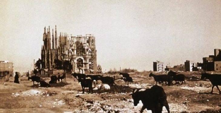 sagrada familia historia 1910