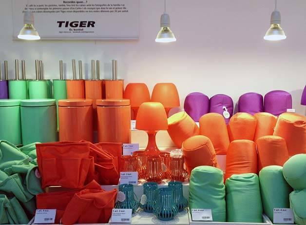 tiger accesorios de decoración en Barcelona
