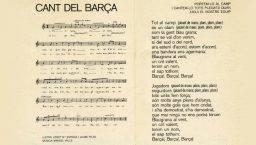 himno del Barça
