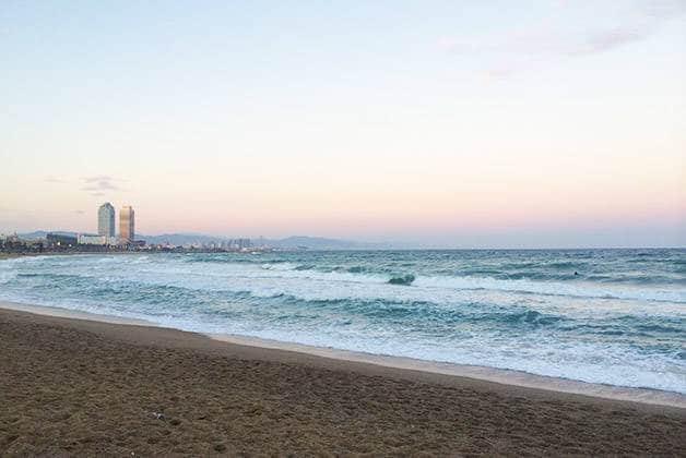 despedida de soltera playa Barcelona