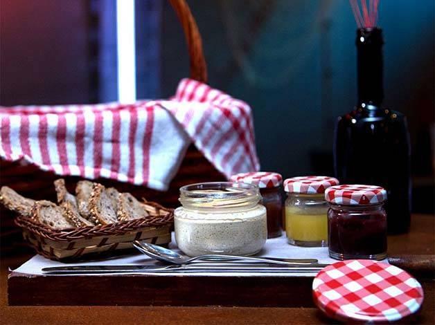 Verne picnic foie y mermeladas