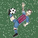 dibujo de Messi