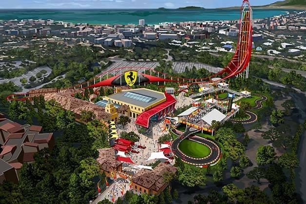 Ferrari Land: el parque nuevo de Port Aventura