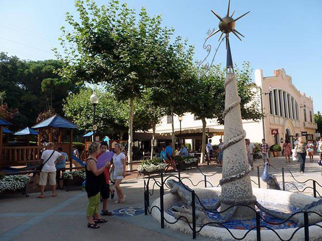 La Roca Village Barcelona fuente