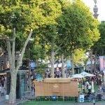 Tast a la Rambla en Barcelona
