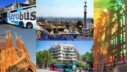 City pass: Sagrada Familia, parque Gûell, Aerobus y Bus turístico
